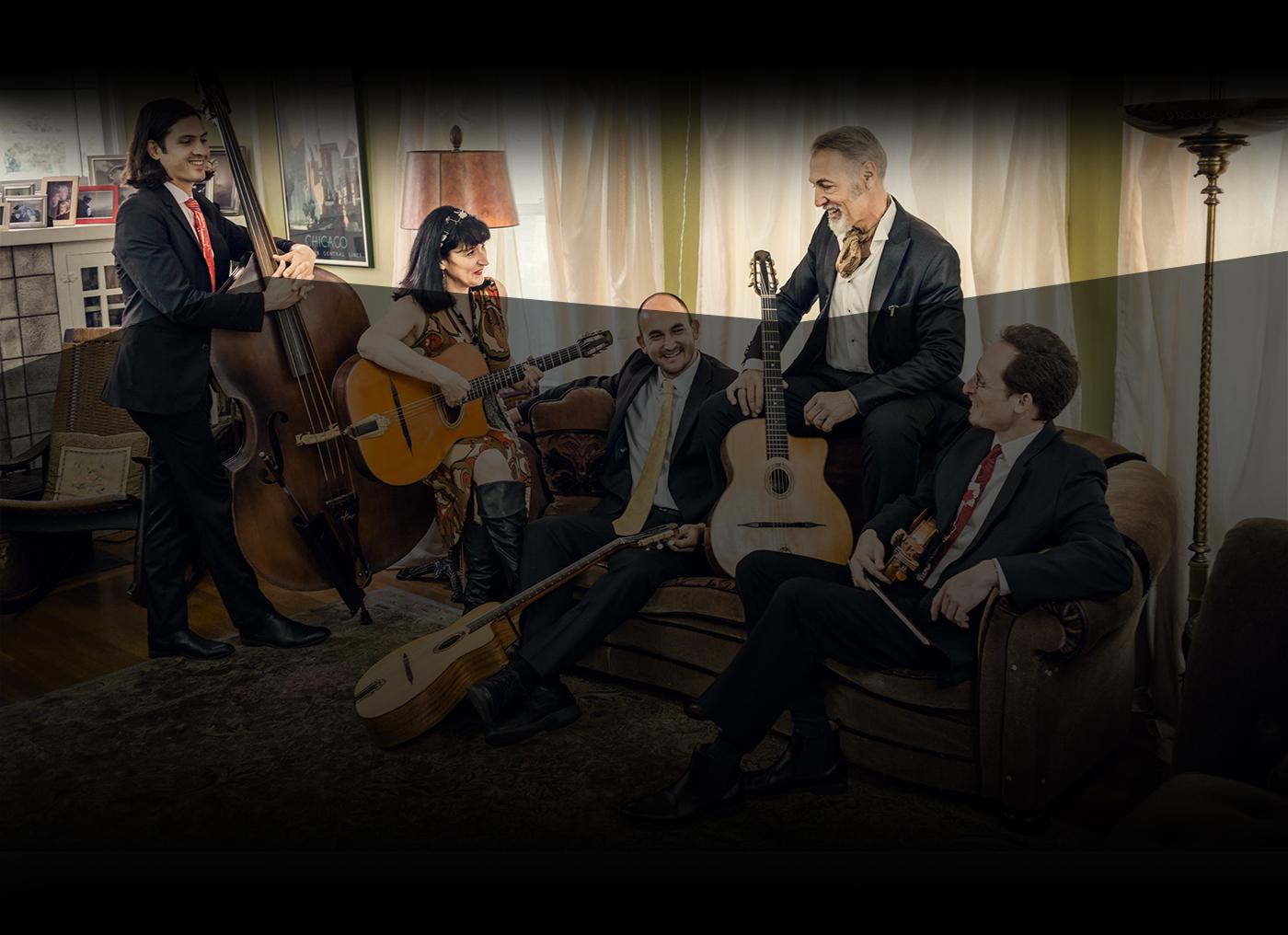 The Hot Club of San Francisco: John, Paul, George & Django