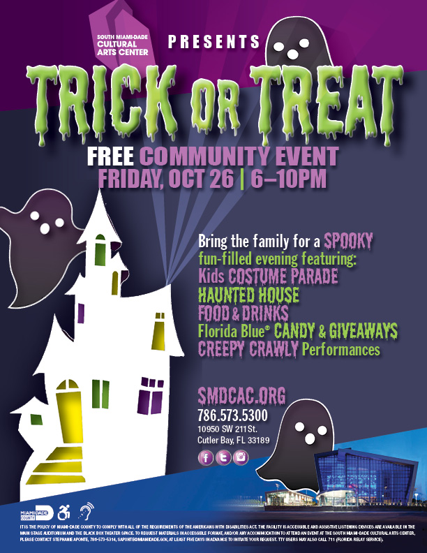 Free Halloween Trick Or Treat 2018 Smdcac
