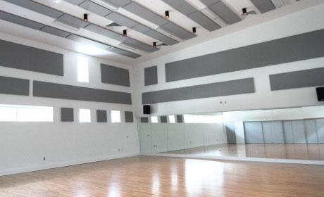 Dance Rehearsal Studio with Mirrors