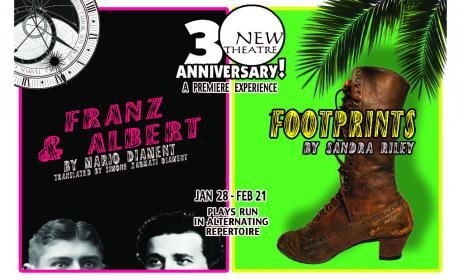 New Theatre's Footprints and Franz and Albert
