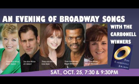 And the Award Goes to: An Evening of Broadway Songs   SMDCAC