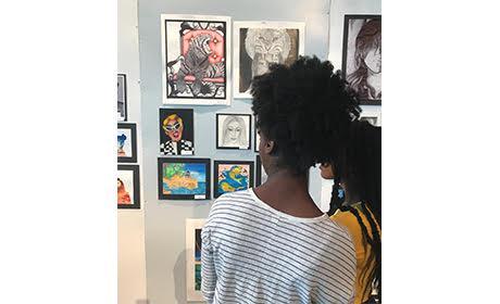 Annual art exhibit