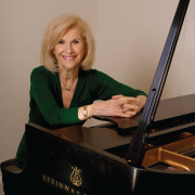 Lenore Raphael at the piano