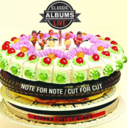 Image of Classic Albums Live Cartoonized on Top of a Cake