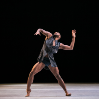 Picture of Alonzo King Lines Ballet Dancer with Wiggly Arms