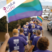 People marching for LGBT rights